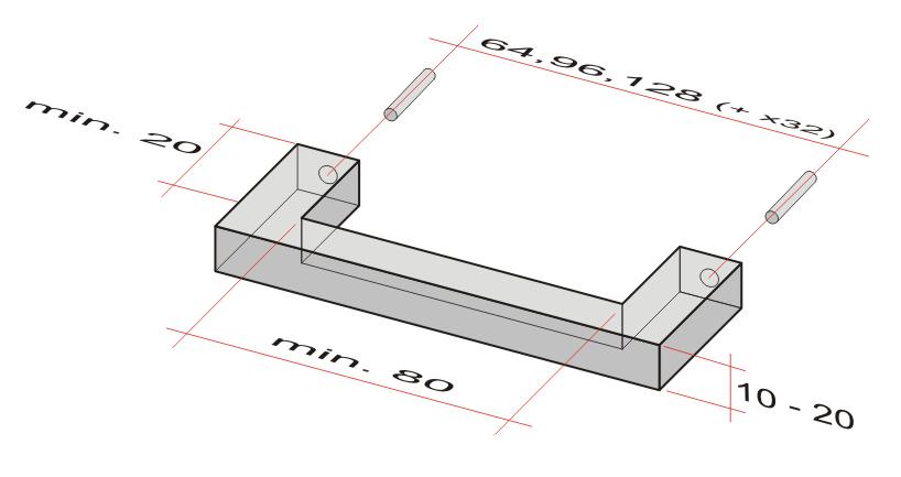 Prikaz osnovnih ergonomskih dimenzija